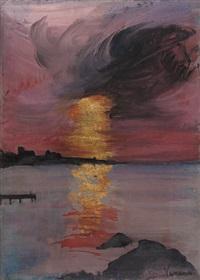 n-1 (tramonto) by arturo vermi