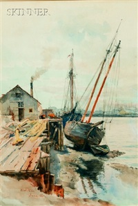 harbor view by henry w. rice