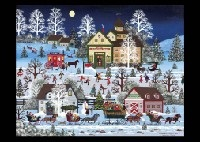christmas traffic jam by jane wooster scott