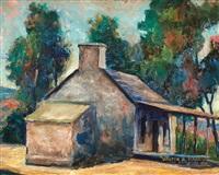 cabin scene by walter alexander bailey