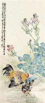 田原双鸡 by liu bin