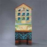 cabinet (painted by aage jensen) by ole kortzau