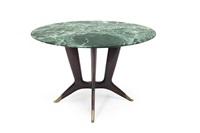 tavolo rotondo con struttura by guglielmo ulrich