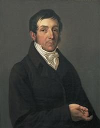 portrait des generalkonsuls und bankiers conrad august thieme by gustav adolph henning