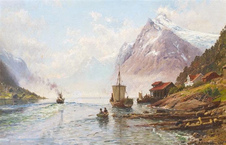 motiv vom sognefjord by anders monsen askevold