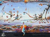 balloon fight by kjeld appel