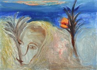 composition with a head in messina by aage fredslund-andersen