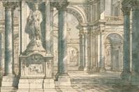 architekturzeichnung by antonio visentini