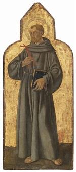 santo francescano by romano antoniazzo