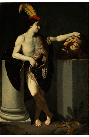 david und goliath by guido reni