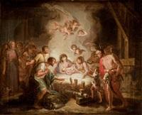 la adoración de los pastores by d. francisco bayeu y subias