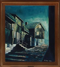 scene from torshavn by thomas arge
