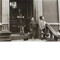 n.y.c. masked children by helen levitt