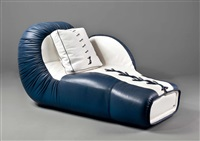 chaiselongue boxhandschuh (model ds 2878) by de sede
