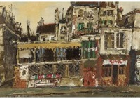 houses in paris by yukio kodama