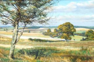 near cockernhoe, bedfordshire (+ offley, hertfordshire; 2 works) by hubert j. squires