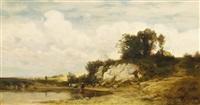 oberbayerische landschaft by theodor alt