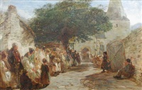 a village wedding by charles thomas burt
