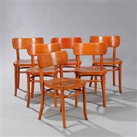 dining chairs (model 234) (set of 6) by magnus læssoe stephensen