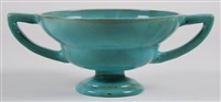 two-handle pedestal bowl by linnware