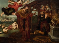 el castigo de david by flemish school (19)