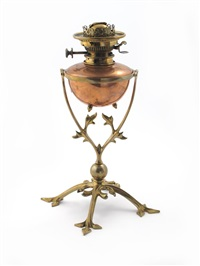 oil lamp by william arthur smith benson