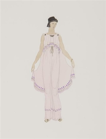 costume designs for i claudius (2 works) by john armstrong