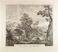 adone alla caccia by francesco bartolozzi