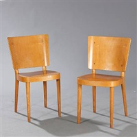 dan chairs (model 2243) (pair) by magnus læssoe stephensen
