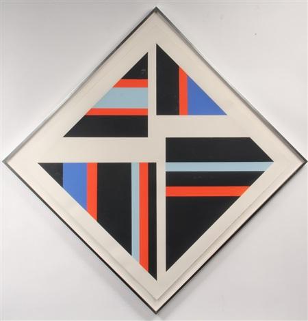 diamond, 1974 by ilya bolotowsky
