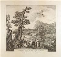 il riposo di diana dopo la caccia by francesco bartolozzi