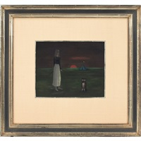 sunset by gertrude abercrombie