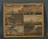 vorstellung der englischen schiffe by thomas baston