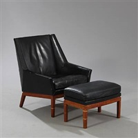 easy chair (pair) by e. kolling andersen and jørgen magnussen
