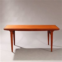 rectangular dining table by johannes andersen