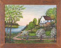 jake mull's house in the spring by minnie reinhardt