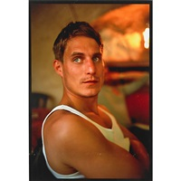 clemens at lunch at de sade, lacoste, france by nan goldin