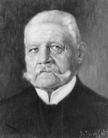 portrait von hindenburg by julius von kreyfelt