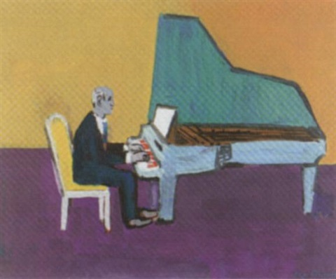 svajatoslav richter am piano by hans gordon jegerlehner