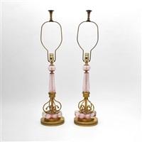 lamps (pair) by avem (arte vetraria muranese)