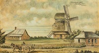 gordon's mill, paddington by australian school (19)