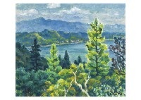 tateshina lake by kenkichi kodera