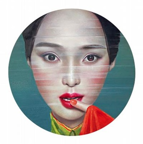 not in love with the one in red but the one armed no 2 by ling jian