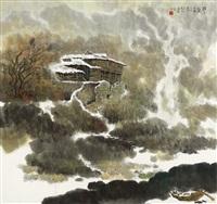 暖冬 (winter landscape) by jiang zhenguo