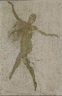 dancer (+ study; pair) by warren b. davis