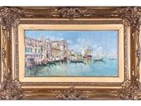 vista del gran canal. venecia by rafael senet y perez