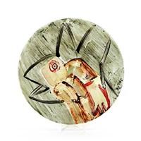 circular dish by arne haugen sorensen