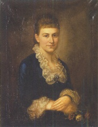 portrait of miss biddle of philadelphia by chester harding