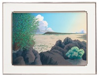 untitled (desert landscape) by doug west