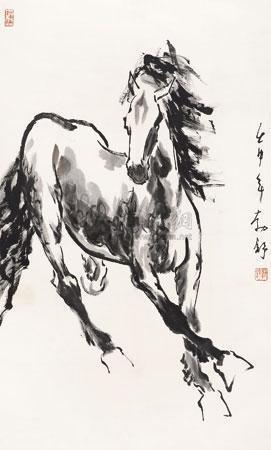 奔马 by liu boshu